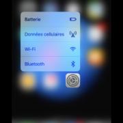 Utilisation du 3D Touch avec Réglages